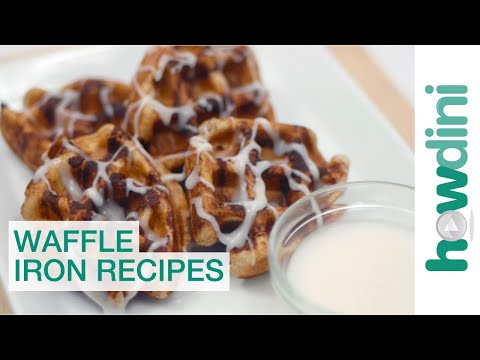 7 Awesome Waffle Iron Recipes: Howdini Hacks