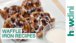 7 Awesome Waffle Iron Recipes: Howdini Hacks(, 2014-05-28T21:58:47.000Z)