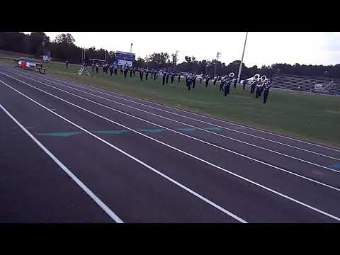Crystal Springs High School marching band 2019 at copiah academy marching festival 2019