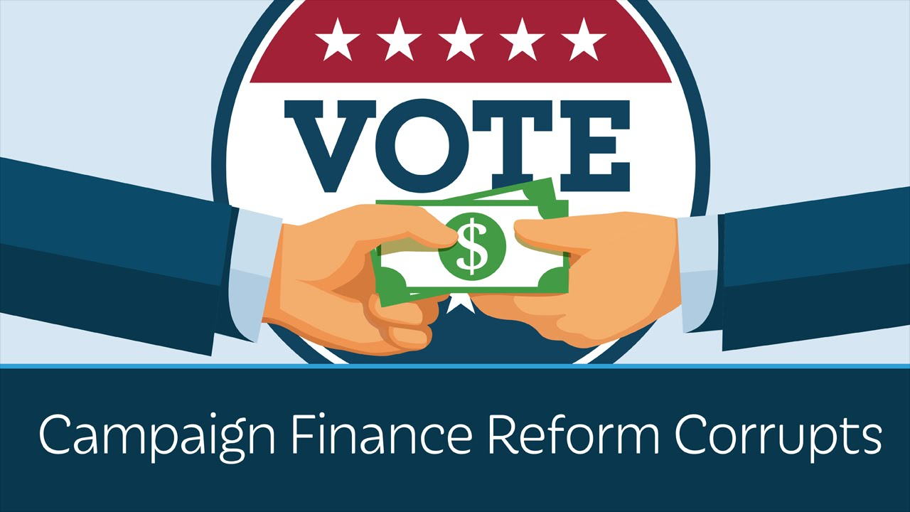 why has campaign finance reform in Personal opinion about campaign finance reform my opinion about campaign finance reform so far is that it has not been successful yet and that this is a major issue in politics today.
