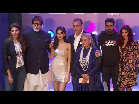 Full Bachchan Family At Shweta Bachchan's MxS Store Launch | Amitabh,Jaya,Aishwarya,Abhishek,Navya