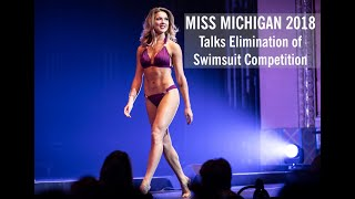 Miss Michigan 2018 talks swimsuit being dropped from Miss America