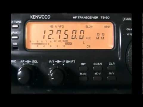 CWA Cerrito Radio (Montevideo, Uruguay) - Weather report in CW - 12750 kHz