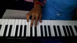 Aala aala majha ganaraj aala | song playing on keyboard | Ganpati song.