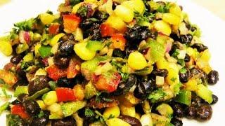 Black Bean Salad - Healthy Weightloss Salad Recipe
