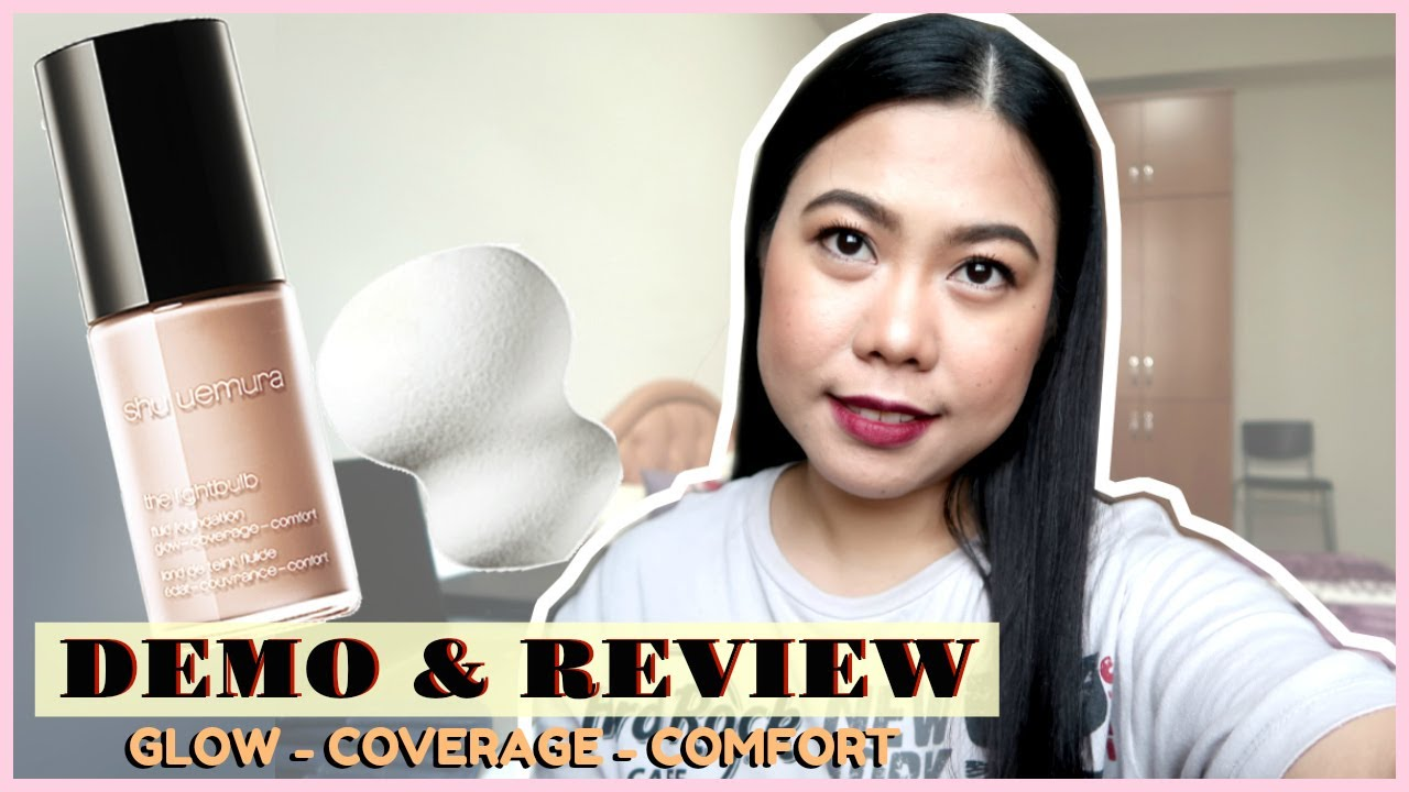 Shu Uemura The Lightbulb Fluid Foundation Demo Review
