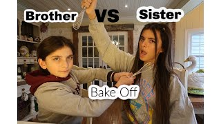 Brother Vs Sister at Home Bake Off