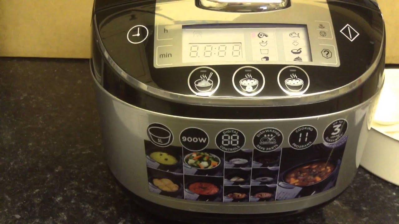 russell hobbs 21850 multi cooker review youtube. Black Bedroom Furniture Sets. Home Design Ideas