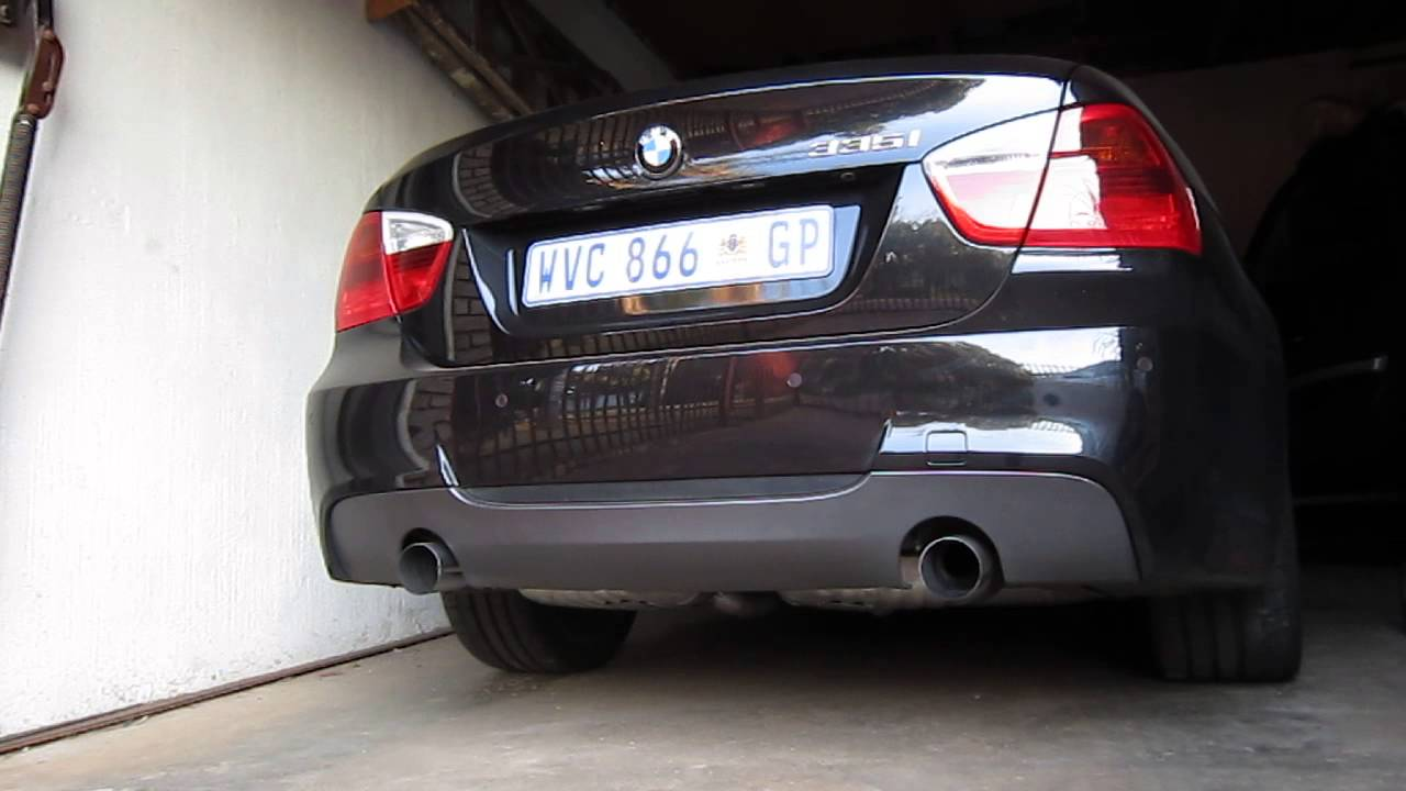BMW I M Performance Exhaust Cold Start YouTube - 2007 bmw 335i performance upgrades