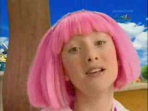 LazyTown song - I Can Move