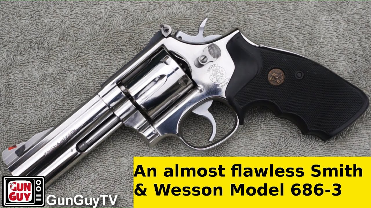 An Almost Flawless SW 686 3 With A 4 Inch Barrel