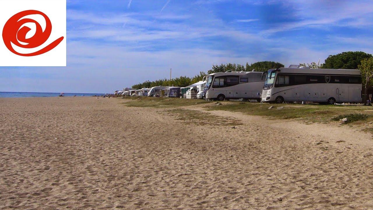 camping bon repos sea front pitch santa susanna spain youtube. Black Bedroom Furniture Sets. Home Design Ideas