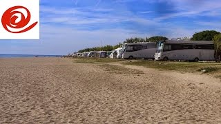 Camping Bon Repos: Sea Front Pitch - Santa Susanna, Spain