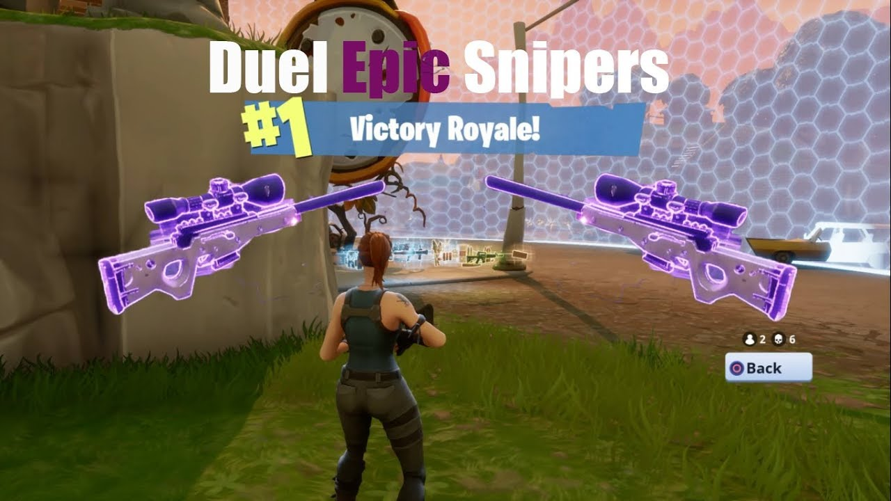 how to play duel on fortnite