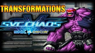 SVC Chaos Transformations by Red Arremer and Athena SNK vs Capcom