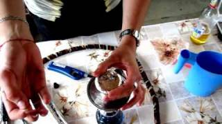 Правильная заправка кальяна 2/How to fill hookah 2