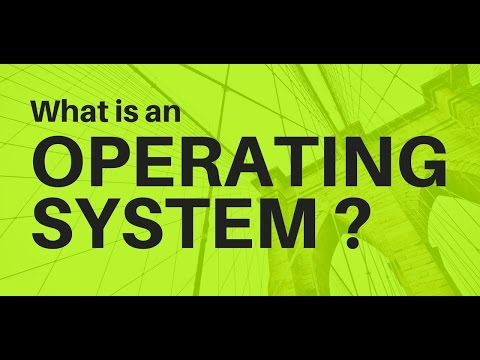 Video 1:- Operating System Introduction/What is an OS?