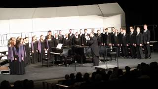 "BYU Singers, ""Crucifixion (He Never Said a Mumblin"