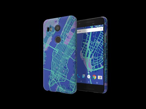 Nexus 5x Google Live Case Unboxing And Setup