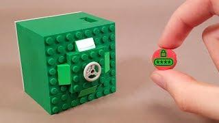 Как сделать Карточный Сейф из ЛЕГО - Новый Механизм