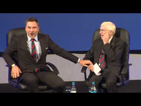 David Walliams interview with Sir Michael Parkinson