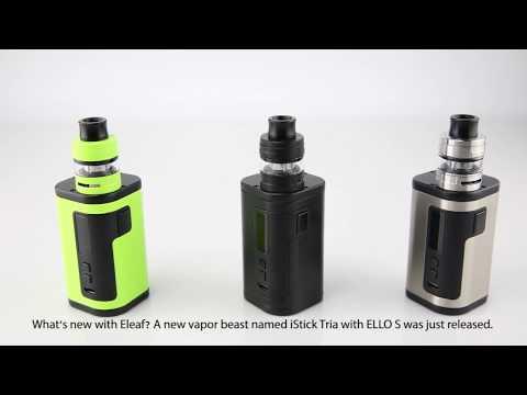 iStick Tria with ELLO S Tutorial Video
