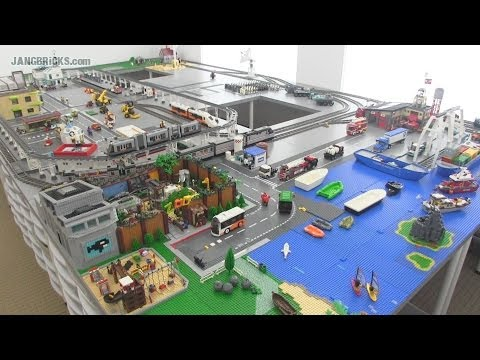 Download Youtube: OLD Video! Updates on my channel! JANGBRiCKS Custom LEGO City update June 2014!