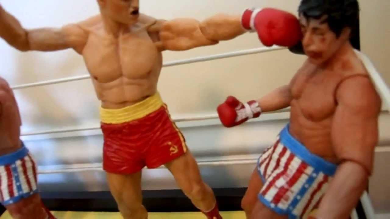 Neca Toys Rocky Figure Collection Apollo Mr T Drago