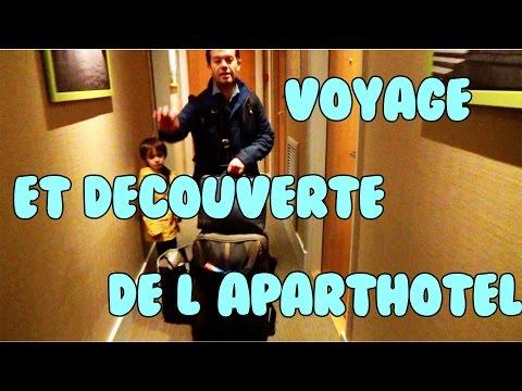 Voyage et découverte de notre Aparthotel Adagio Kids Friendly!!