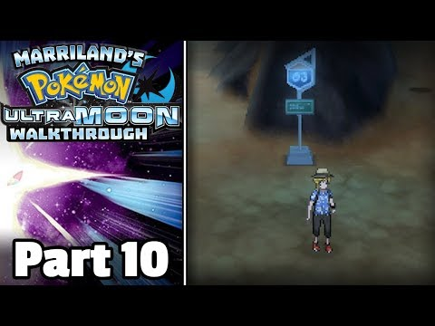 Pokémon Ultra Moon Walkthrough, Part 10: Route 3 (+ Mystery Gift Rockruff)