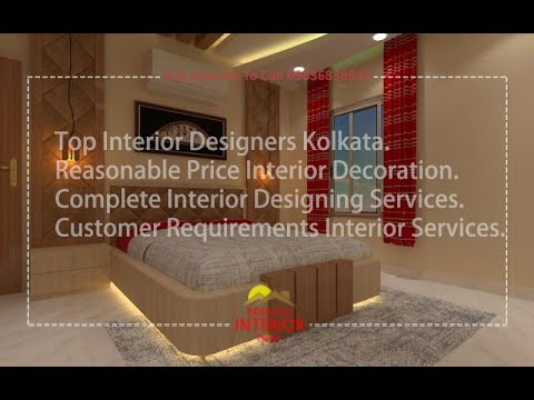 Top Interior Designers Kolkata Reasonable Price Kolkata Interior Top Designing Decoration Creator Youtube
