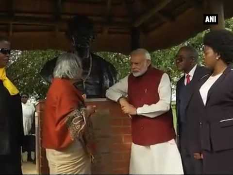 PM Modi visits Phoenix Settlement in South Africa - ANI News