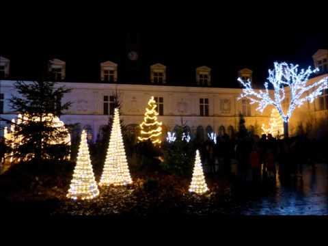 ILLUMINATIONS DE NOËL A LAVAL (Mayenne)-Déc.2015