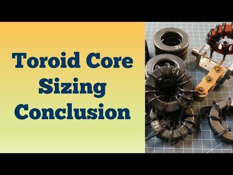 #83: Toroid Core Sizing