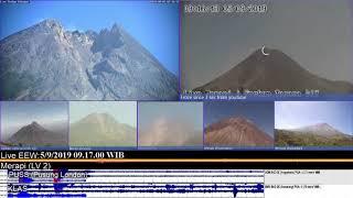 5/9/2019 - Mt Merapi TimeLapse