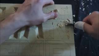 [ASMR] 나무 조각하기 Wood carving [no voice]