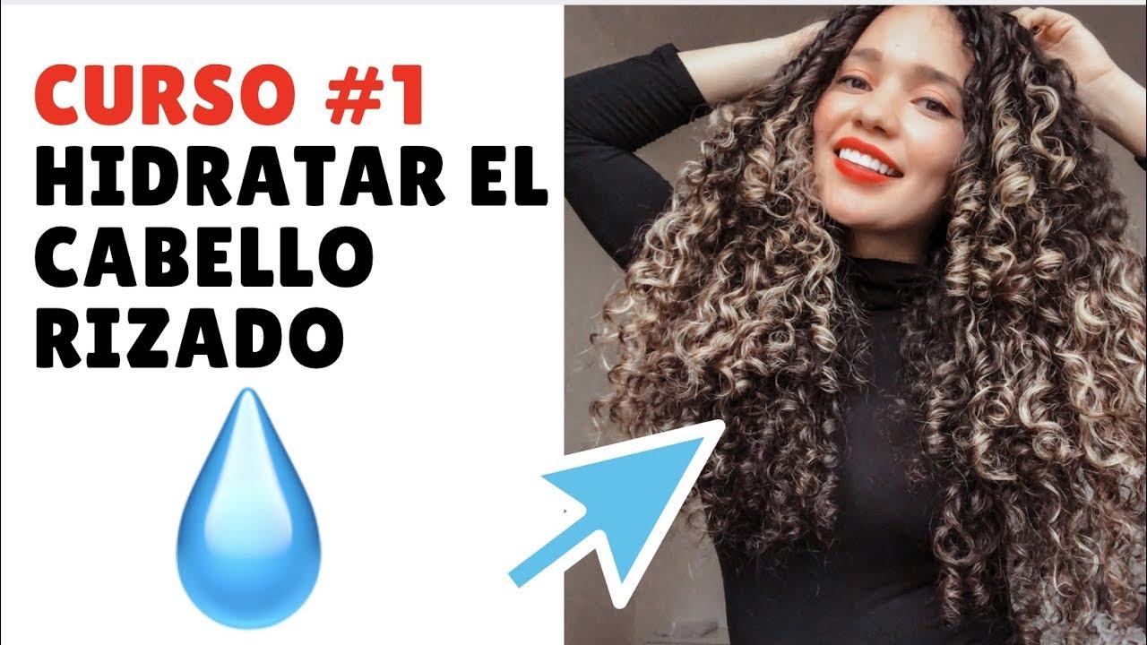 Curso Para Rizos Cómo Hidratar El Cabello Rizado Varias Maneras