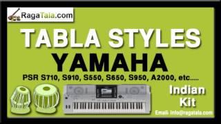 Mehndi laga ke rakhna - Yamaha Tabla Styles - Indian Kit - PSR S710 S910 S550 S650 S950 A2000 ect...