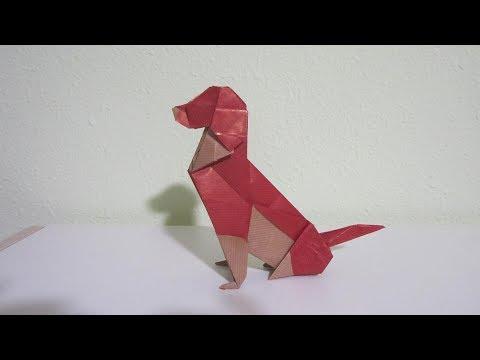 """TUTORIAL - Origami """"Year of the Dog"""" Zodiac - Creator: Seth Friedman"""