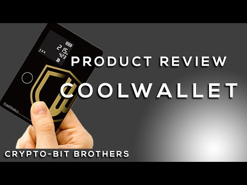 """Very Unique Hardware Wallet for Crypto, the """"Cool Wallet"""""""