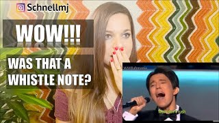 DIMASH REACTION | Love of Tired Swans | REACTION VIDEOS
