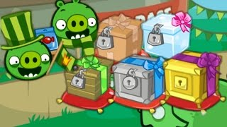 Bad Piggies - UNLOCK CRATES (Hidden Loot Crates)