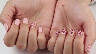 Video: Návod na jarní nehty s růžemi