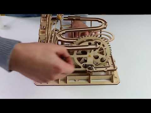 Magic crash series - waterwheel coaster LG501 3D wooden puzzles