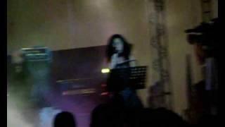 Giusy Ferreri - Novembre Live In Athens,Greece @ Technopolis, Gazi 06/28/09