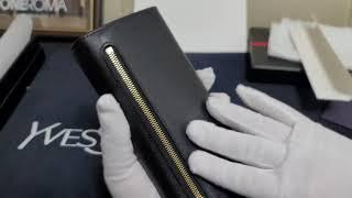 원로마 레플리카 프라다 여성 장지갑 사피아노지퍼 지갑