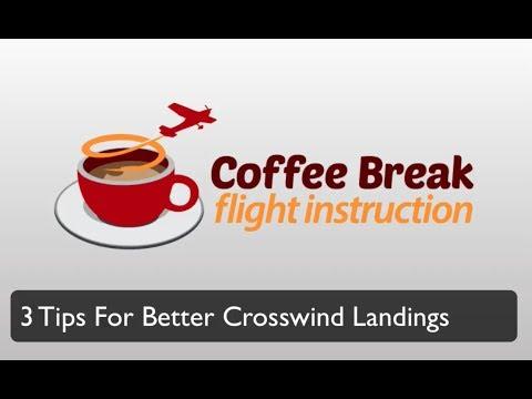 3 Tips for Better Crosswind Landings - Coffee Break Flight Instruction by MzeroA