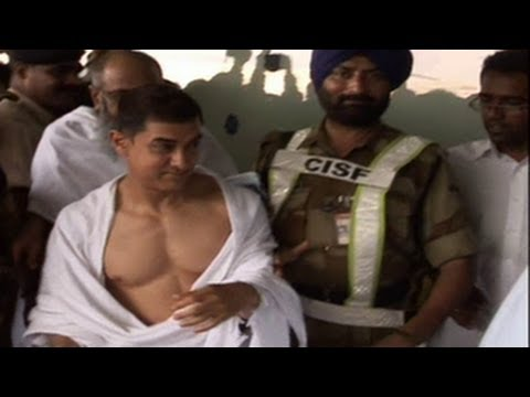 SPOTTED: Aamir Khan goes for Hajj