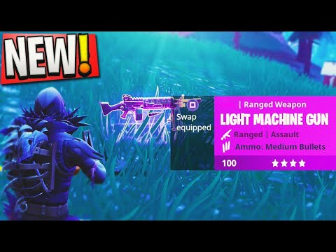 "NEW Fortnite ""Meteor Strike"" + NEW ""LMG"" UPDATE GAMEPLAY in Fortnite! - Fortnite Battle Royale LIVE"