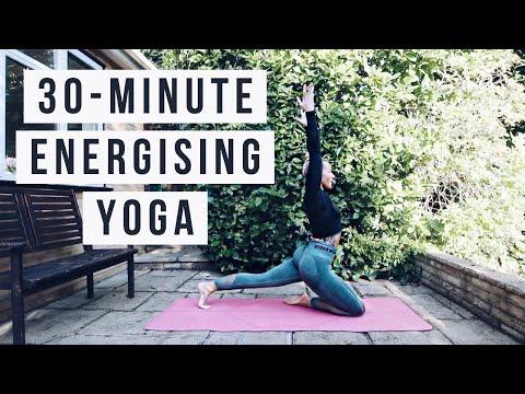 ENERGISING FLOW | 30-Minute Yoga Practice | CAT MEFFAN
